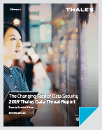2019 Thales Data Threat Report - Financial Services Edition