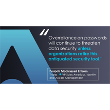 Security Must Be Driven by Better Access Control – Not Antiquated Password Use and Breaches