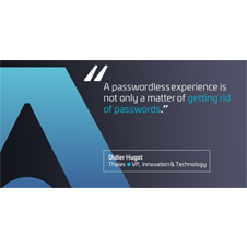 Moving towards a passwordless experience… it is all about user needs!