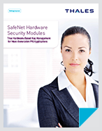 HSM True Hardware-based Key Management Next Gen PKI Apps - Brochure