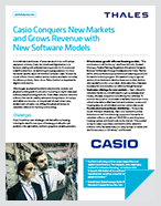 Casio Conquers New Markets and Grows Revenue with New Software Models - Case Study