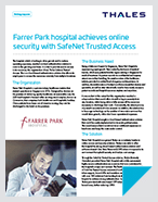 Farrer Park Hospital achieves online security with SafeNet authentication solution - Case Study