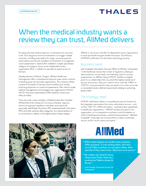 When The Medical Industry Wants A Review They Can Trust, Allmed Delivers