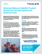 Westcon Relies on SafeNet Trusted Access for Constant Uptime and Reduced Costs - Case Study