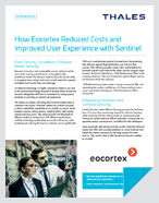 How Eocortex Reduced Costs and Improved User Experience with Sentinel - Case Study