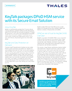 KeyTalk packages DPoD HSM service with its Secure Email Solution