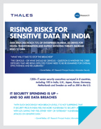 Rising Risks for Sensitive data in India