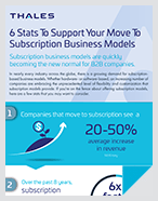 6 Stats To Support Your Move To Subscription Business Models - Infographic