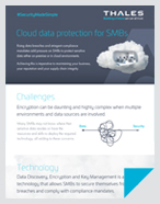 Cloud data protection for SMBs - Infographic