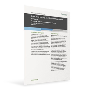 forrester iam report