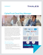 CipherTrust Cloud Key Manager - Product Brief
