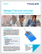 IDBridge CT30 smart card reader - Product Brief