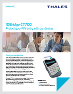 IDBridge CT700 Protect your PIN entry with our devices - Product Brief