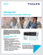 IDBridge K30 Secure token in portable USB format - Product Brief