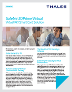 SafeNet IDPrime Virtual - Product Brief