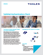 SafeNet Authentication Client - Product Brief
