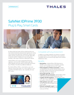 SafeNet IDPrime 3930 - Product Brief