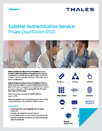 SafeNet Authentication Service Private Cloud Edition (PCE) - Product Brief