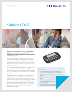 SafeNet Gold - Product Brief