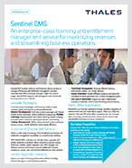 sentinel ems product brief
