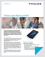 Thales Luna Backup HSM - Product Brief