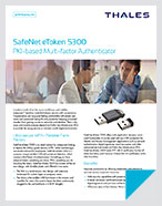 SafeNet eToken 5300 - Product Brief