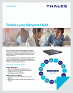 Thales Luna Network HSM - Product Brief