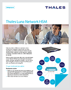 Thales Luna Network Hardware Security Modules (HSM) - Product Brief