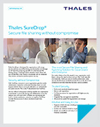 Thales SureDrop - Product Brief