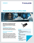 Thales ProtectServer 3 PCIe HSM