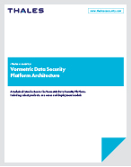 Vormetric Data Security Platform Architecture - White Paper