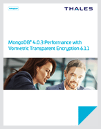 MongoDB® 4.0.3 Performance With Vormetric Transparent Encryption 6.1.1 - White Paper