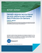 451 Research Highlights Thales's New Thales Data Protection On Demand - Report