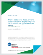 451 Research Highlights Thales's New CipherTrust Data Discovery & Classification Service - Report