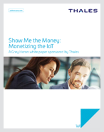Monetize the IoT
