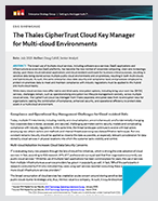 The CipherTrust Cloud Key Manager for Multi-cloud Environments