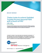Thales looks to extend SafeNet Trusted Access beyond FIDO with a touch of PKI - White Paper