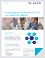 Simplifying cloud access with SSO and contextual authentication - Fact Sheet