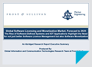 Trends and Predictions for the Software Licensing Market Through 2025 - Report