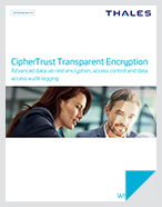 CipherTrust Transparent Encryption - White Paper