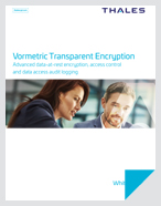 Vormetric Transparent Encryption Architecture - White Paper