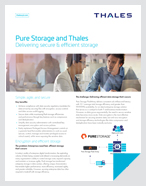 Pure, Secure & Efficient Storage