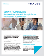 SafeNet FIDO2 Devices - Solution Brief