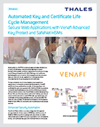 Secure Web Applications with Venafi Advanced Key Protect - Solution Brief