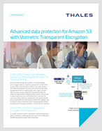 Advanced data protection for AWS S3 with Vormetric Transparent Encryption (VTE) - Solution Brief