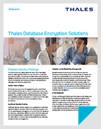 Database Encryption Solutions - Solution Brief