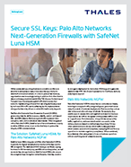 Palo Alto Networks - Thales Luna HSM - Solution Brief