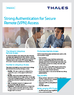 Strong Authentication for Secure Remote (VPN) Access - Solution Brief