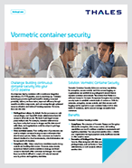 Vormetric Transparent Encryption Container Security - Solution Brief