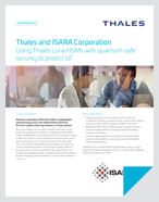 Thales and ISARA Corporation - Solution Brief